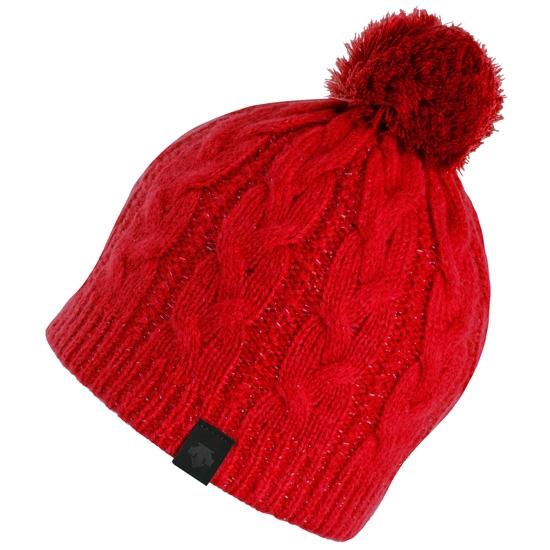 Descente Knit Cap - Red