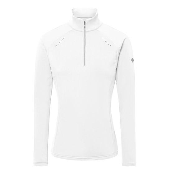 Descente Kelsey T-Neck Shirt W - White