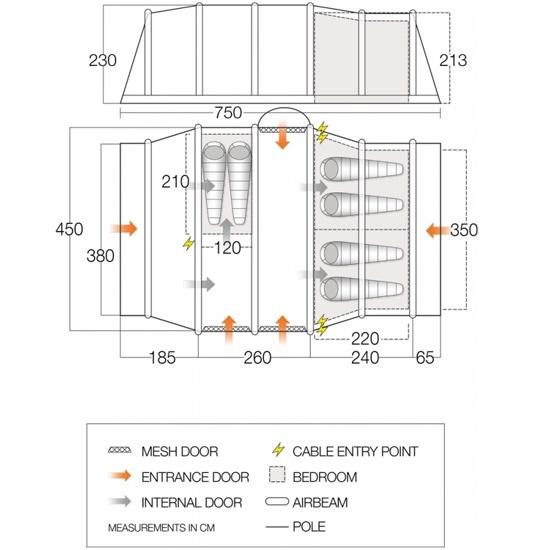 Vango Verona Air - Photo of detail