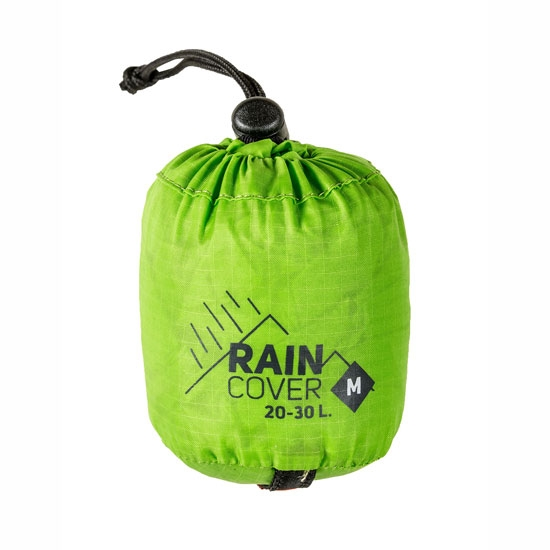 Millet Raincover M - Acid Green