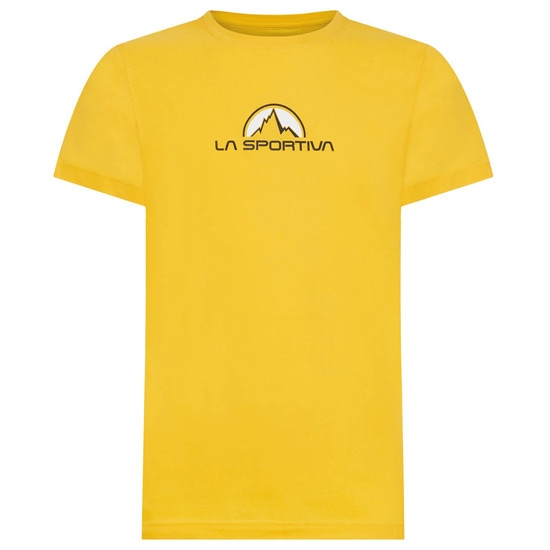 La Sportiva Footstep Tee - Yellow