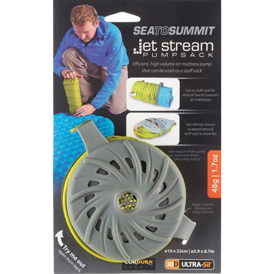 Sea To Summit Jet Stream Pump Sack - Photo of detail
