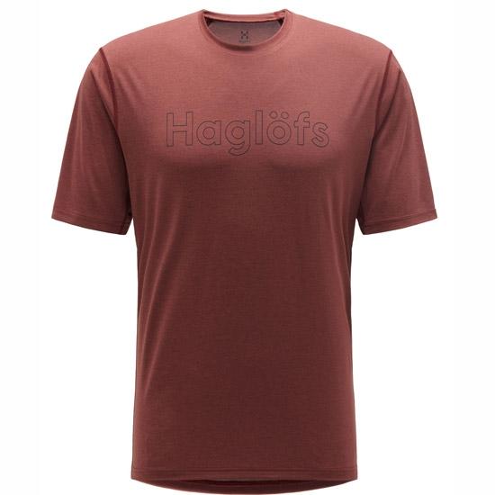 Haglöfs Ridge Tee - Maroon Red