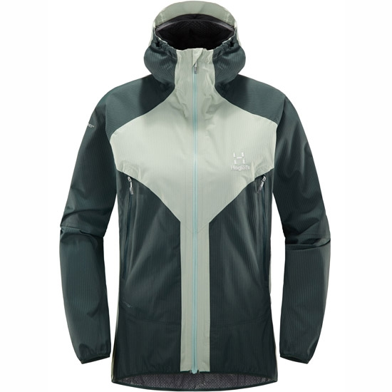 Haglöfs L.I.M Proof Multi Jacket W - Blossom Green/Mineral