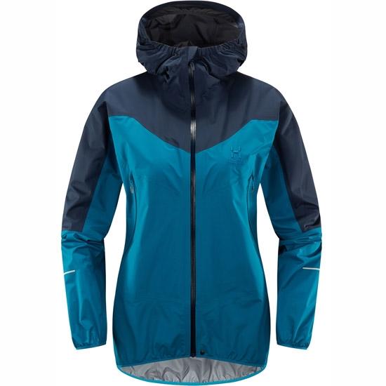 Haglöfs L.I.M Comp Jacket W - Mosaic Blue/Tarn Blue