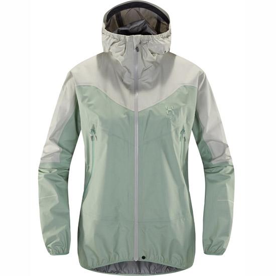 Haglöfs L.I.M Comp Jacket W - Blossom Green/Haze