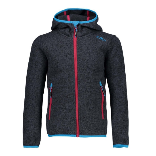 Campagnolo Knitted Fix Hood Girl - Asphalt/Nero