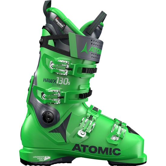 Atomic Hawx Ultra 130 S Thermoformable - Green/Dark Blue