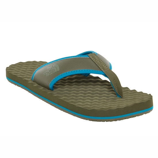 The North Face Base Camp FlipFlop - New Green Taupe/Cristal Teal