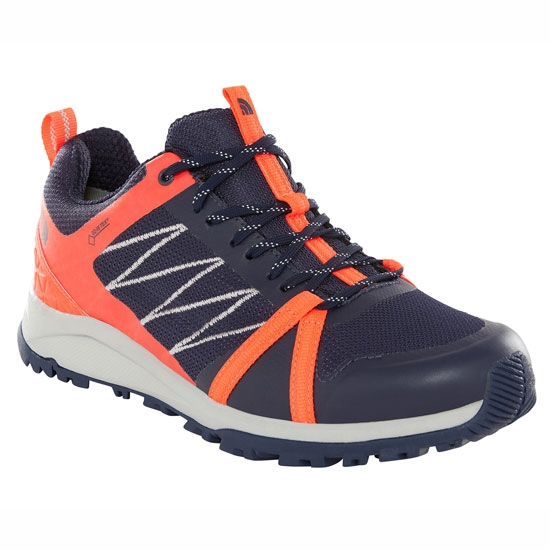 The North Face Litewave Fastpack II GTX W - Peacoat Navy/Fiery Coral
