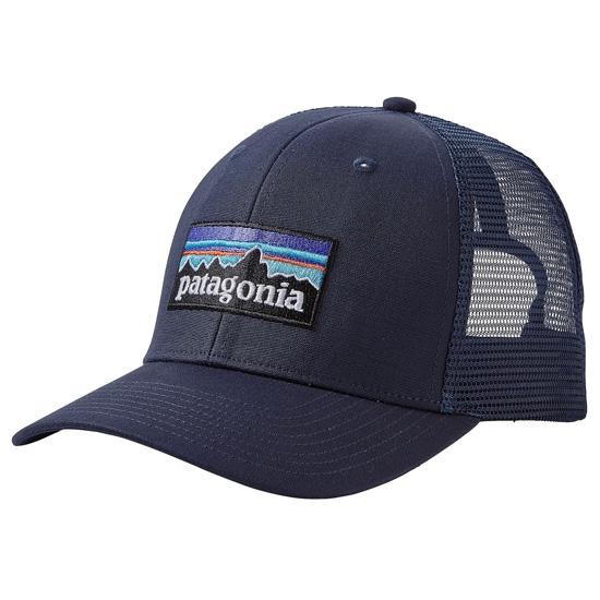 Patagonia P-6 Logo Trucker Hat - Navy