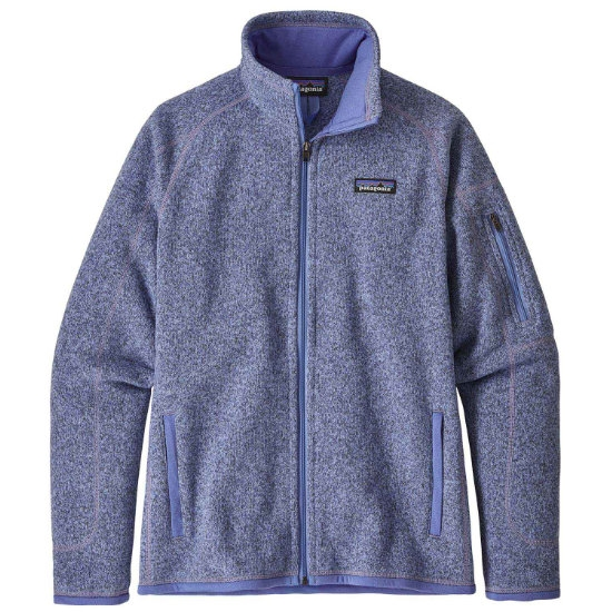 Patagonia Better Sweater Jacket W - Light Violet Blue