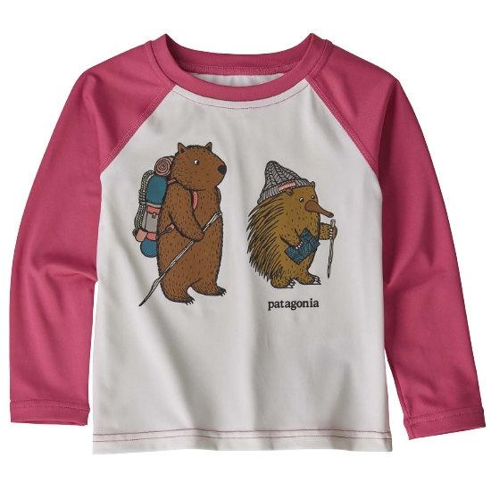 Patagonia Baby Capilene Silkweight Crew - Wombat & Echidna Trailm