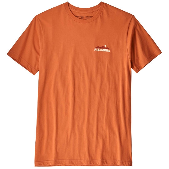 Patagonia The Less You Need Organic T-Shirt - Sunset