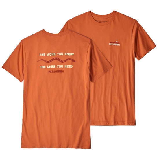 Patagonia The Less You Need Organic T-Shirt - Photo of detail