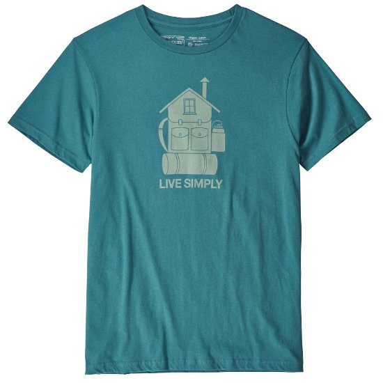 Patagonia Live Simply Home Organic T-Shirt - Tasmania