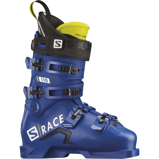 Salomon S/Race Boots 110 - Raceblue/Acid Green