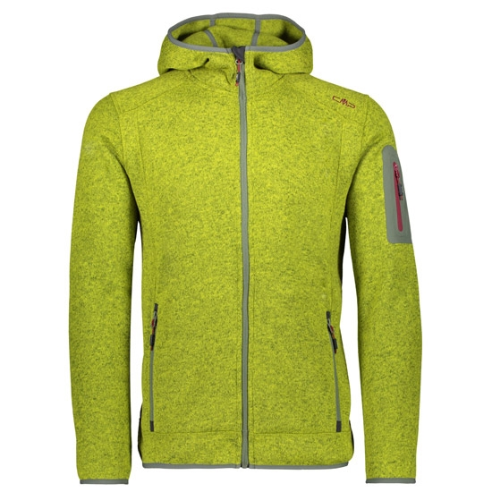 Campagnolo Knitted Fix Hood Jacket - Apple/Kaki