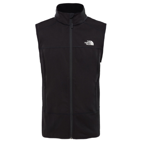 The North Face Hybrid Softshell Vest - Tnf Black/Tnf Black