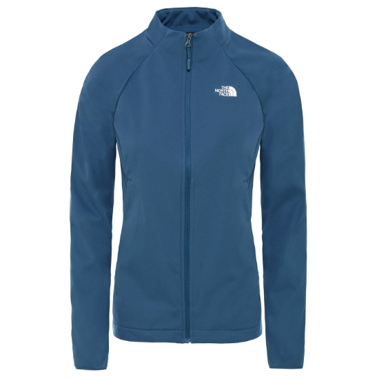 The North Face Inlux Softshell Jacket W - Blue Wing Teal