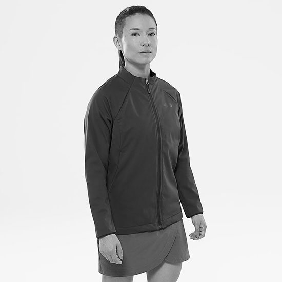 The North Face Inlux Softshell Jacket W - Photo of detail