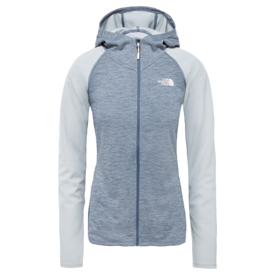 The North Face Invene Midlayer W - Grisaille Grey Heather/Tin Grey Heather
