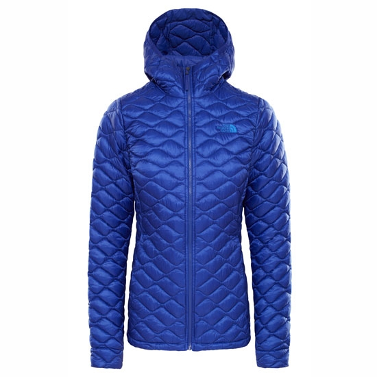 The North Face ThermoBall Hoodie W - Aztec Blue