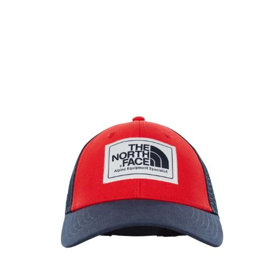 The North Face Mudder Trucker Hat - Tnf Red/Urban Navy