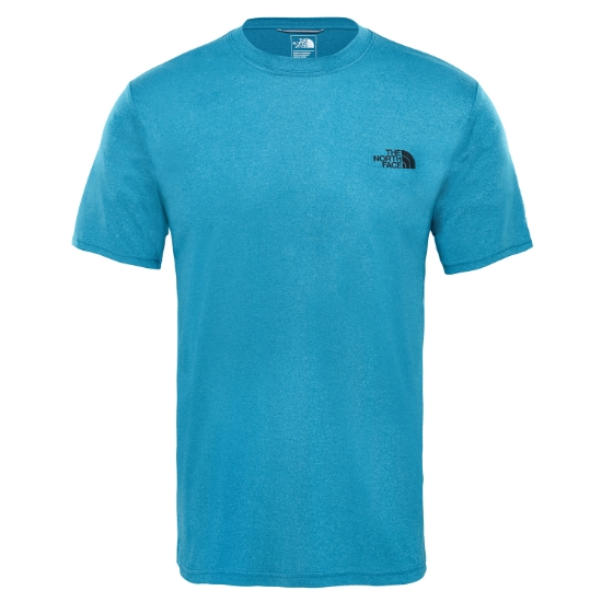 The North Face Reaxion Amp Crew - Crystal Teal Heather