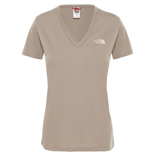 The North Face Simple Dome Tee W - Silt Grey