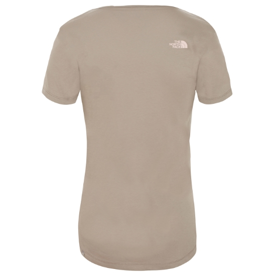 The North Face Simple Dome Tee W - Photo of detail