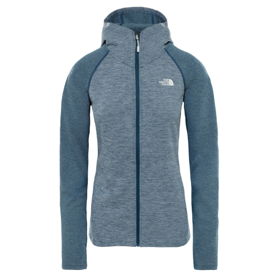 The North Face Invene Midlayer W - Blue Wing Teal Heather