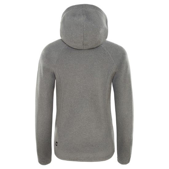 The North Face Mezzaluna Full Zip Hoodie Girl - Foto de detalle
