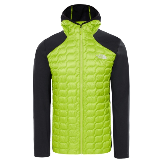 NF0A3S12BE41 New Lime The Hybrid North Hybrid Hoodie Green