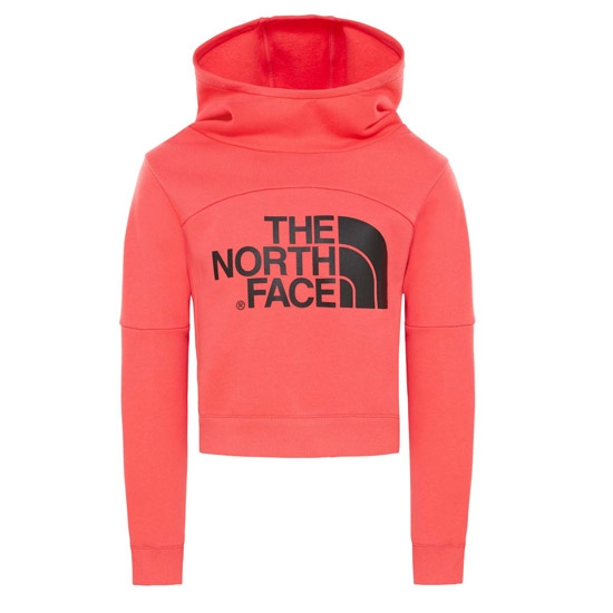 The North Face Cropped Hoodie Girl - Atomic Pink
