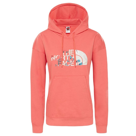 The North Face Light Drew Peak Hoodie W - Spiced Coral