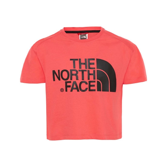 The North Face Cropped S/S Tee Girl - Atomic Pink
