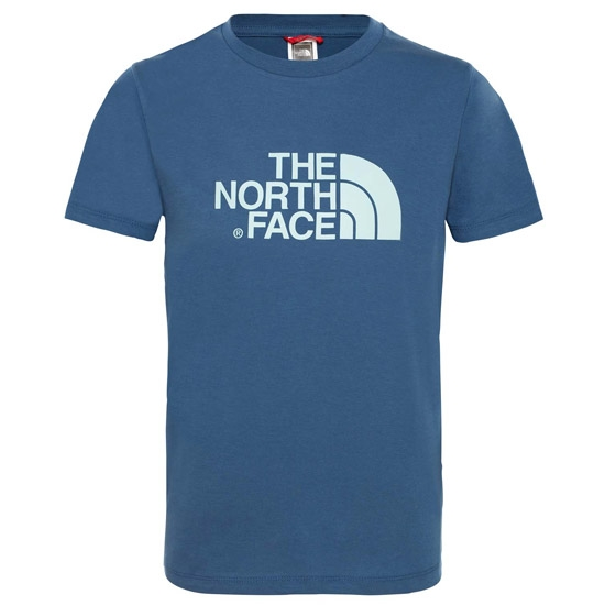 The North Face Easy Tee Youth - Shady Blue/Canal Blue