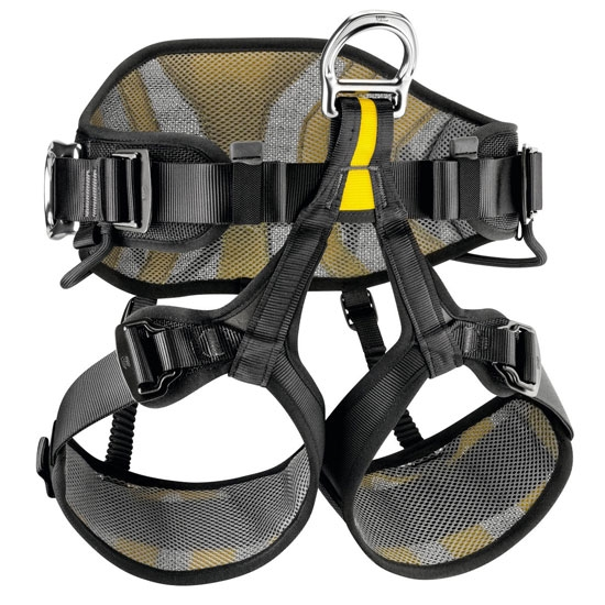 Petzl Avao Sit - Black/Yellow