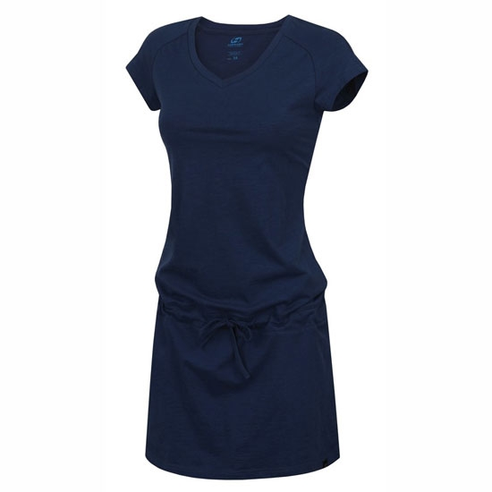 Hannah Catia II Dress W - Dark Denim