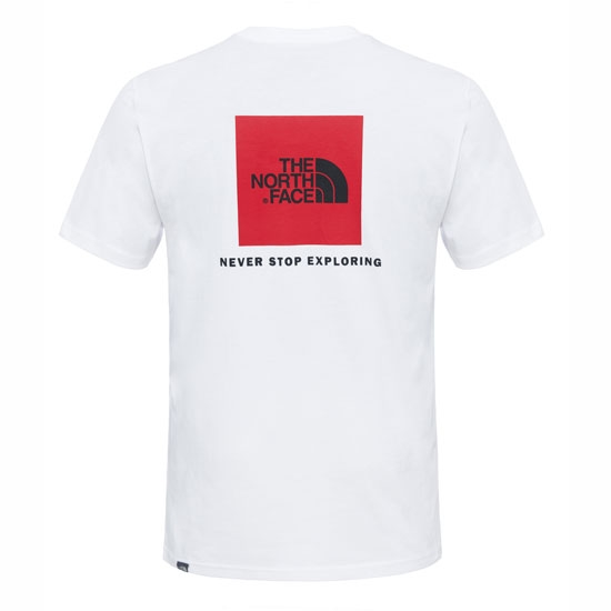 The North Face S/S Red Box Tee - Photo of detail