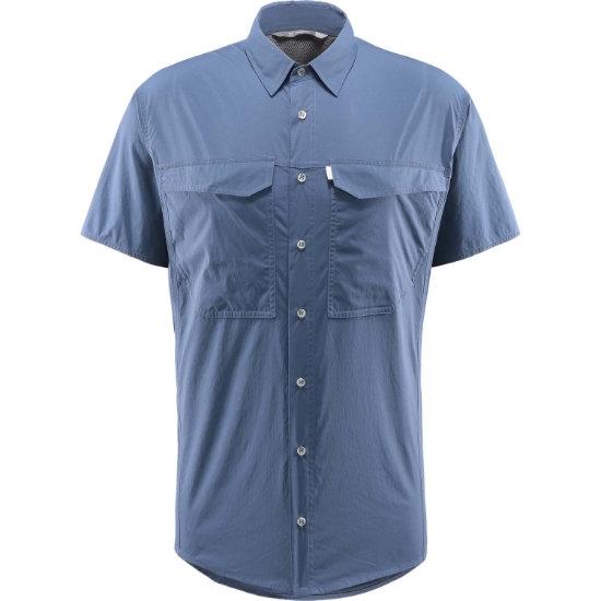 Haglöfs Salo SS Shirt - Tarnblue