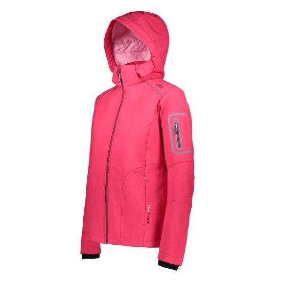 Campagnolo Softshell Zip Hood W - Photo of detail