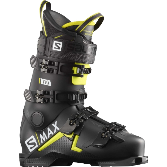 Salomon S-MAX 110 Thermoformable - Black/Acid Green