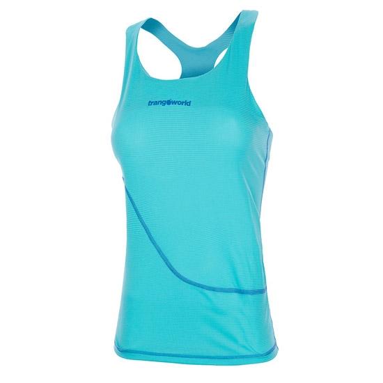 Trangoworld Luena Top W - Azul Turquesa/Azul Oscuro