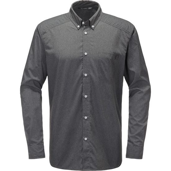Haglöfs Vejan Ls Shirt - Magnetite