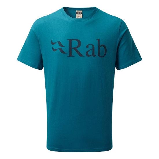 Rab Stance Logo SS Tee - Azure