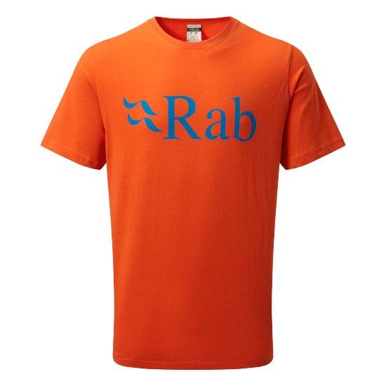 Rab Stance Logo SS Tee - Firecracker