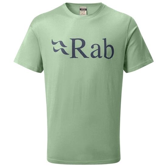 Rab Stance Logo SS Tee - Silverpine