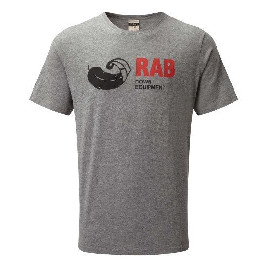 Rab Stance Vintage SS Tee - Grey Marl